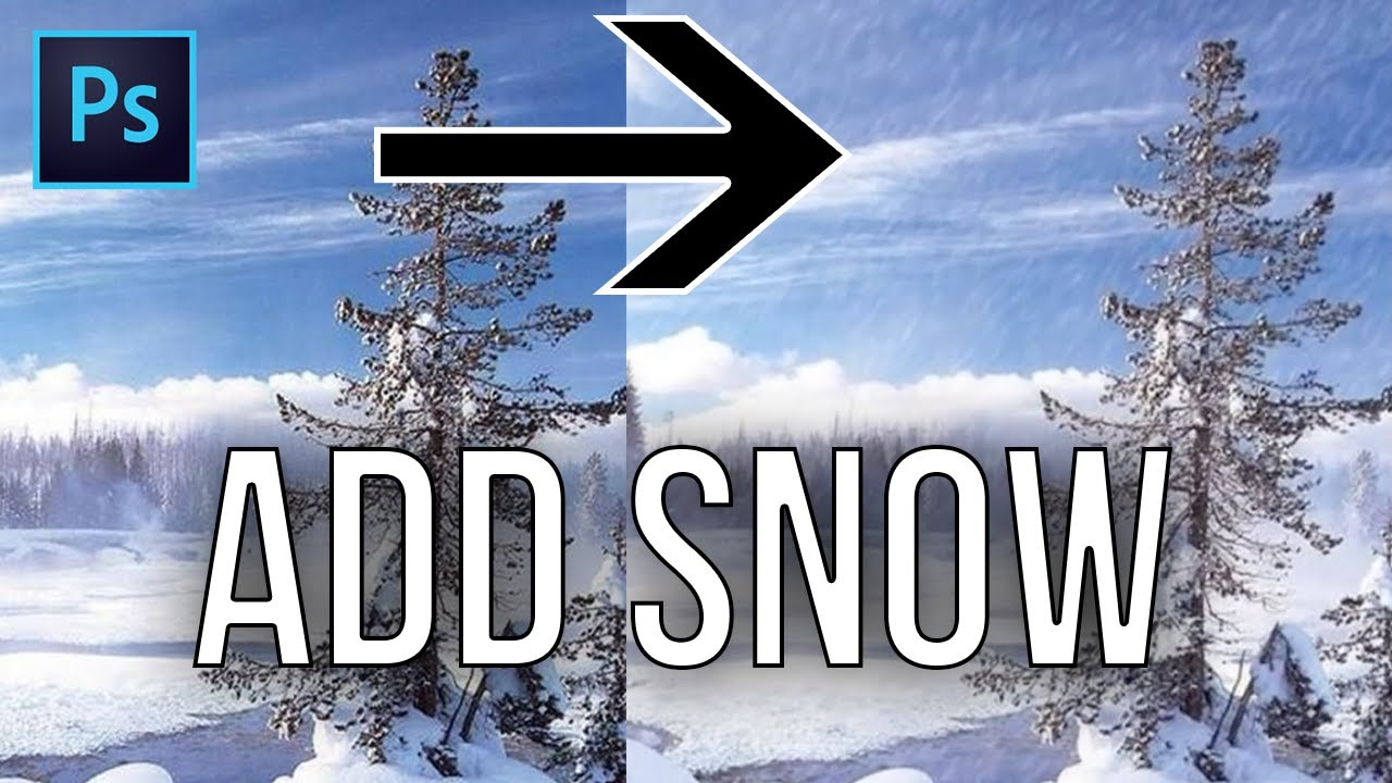 How to create snow in photoshop lensvid. Comlensvid. Com.