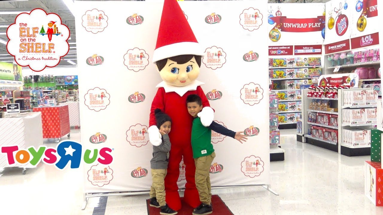 The Elf On The Shelf Irl Meet And Greet At Toys R Us