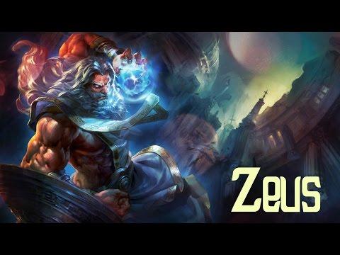 видео: smite - zeus build guide // Игра за sun zeus'a // Бог неба