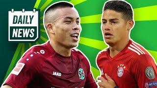 Noch mehr Probleme beim FC Bayern! BVB: Premier League an Sancho dran! Hannovers Lizenzprobleme!