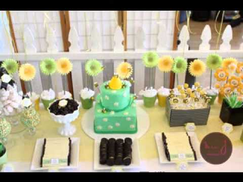 DIY Bumble Bee Baby Shower Decorating Ideas