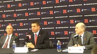 Rutgers to Big Ten Press Conference: Part 2