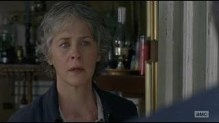TWD: Morgan tells Carol about Glenn and Abraham