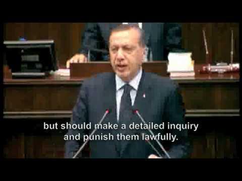 VIDEO  Erdogan condemns Israeli raid on Gaza aid ship - Hurriyet Daily News and Economic Review.flv