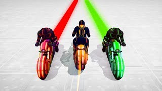 HARDEST DON'T MOVE TRON BATTLE! - GTA 5 Funny Moments