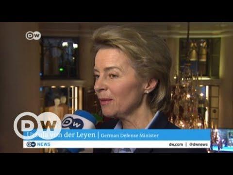 Munich Security Conference - DW talks to Ursula von der Leyen, German Defense Minister | DW English