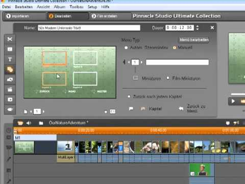 Pinnacle Studio 14 Disc Menüs - DVD Authoring