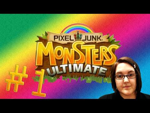 PIXELJUNK: MONSTERS ULTIMATE - Part 1 - OMG MY BABIES!!  