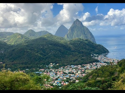 St. Lucia | The Pitons | Marigot Bay | Travel VLOG | March 2018