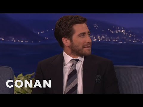 Jake Gyllenhaal's Secret To Acting Older: Grow A Beard  - CONAN on TBS