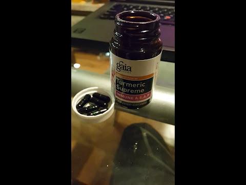 Gaia herbs Tumeric Supreme Immune ASAP review
