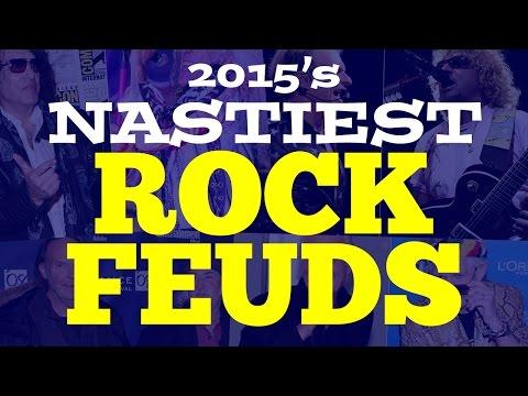 2015's Nastiest Rock Feuds