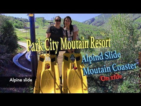 Park City 雲霄飛車 (體驗)Alpine Slide/ MountainCoaster on the ride REVIEW