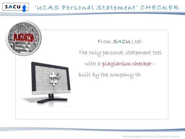 sacu personal statement checker nearly here sacu