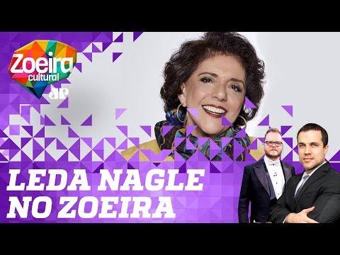 Felipe Moura Brasil e Vinheteiro entrevistam Leda Nagle - Zoeira Cultural: Ep. 20