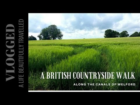 A British Countryside Walk in Northamptonshire - Beautifully Vlogged