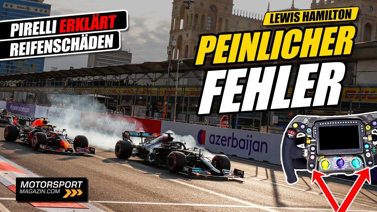 Kostete dieser peinliche Fehler Hamilton den Sieg? | Formel 1 2021
