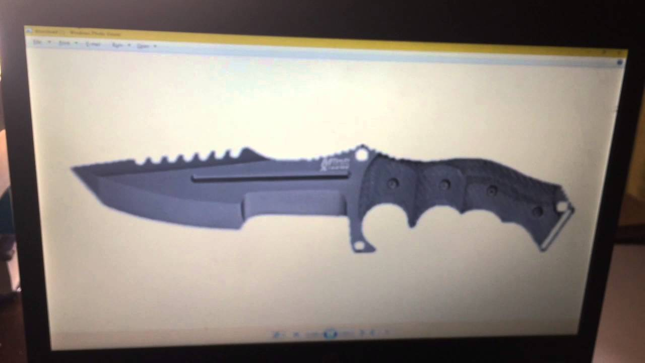 Huntsman Knife Template