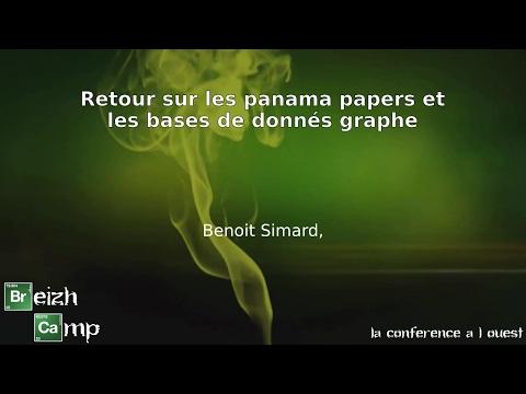 Retour sur les panama papers et les bases de donnés graphe (Benoit Simard)