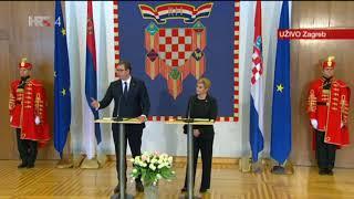 Vučić i Kolinda odgovaraju na provokativna pitanja srpskih novinara