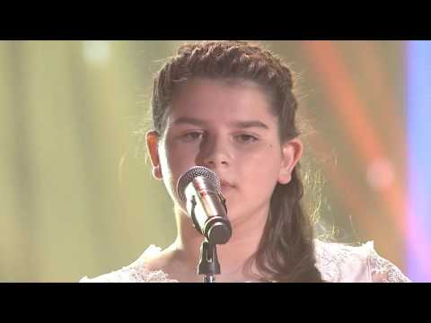 "Gjeniu i vogel 7 - SARA BAJRAKTARI - ""You raise me up"" (nata Finale)"