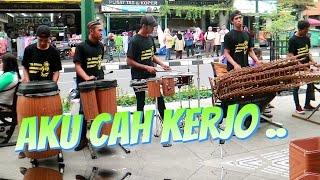 Download lagu AKU CAH KERJO Angklung Malioboro CAREHAL Cari Rejeki Halal MP3