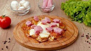 Картофельная пицца c яйцом - Рецепты от Со Вкусом