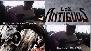 El Sureño - Los Antiguos cover.