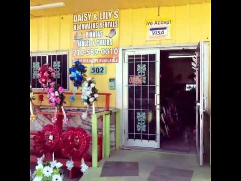 Daisy&Lily's flower shop,San Antonio texas