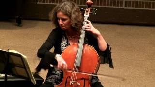 Bach Cello Suite No 5 in C minor, BWV 1011 (1-6) Prelude - Josephine van Lier