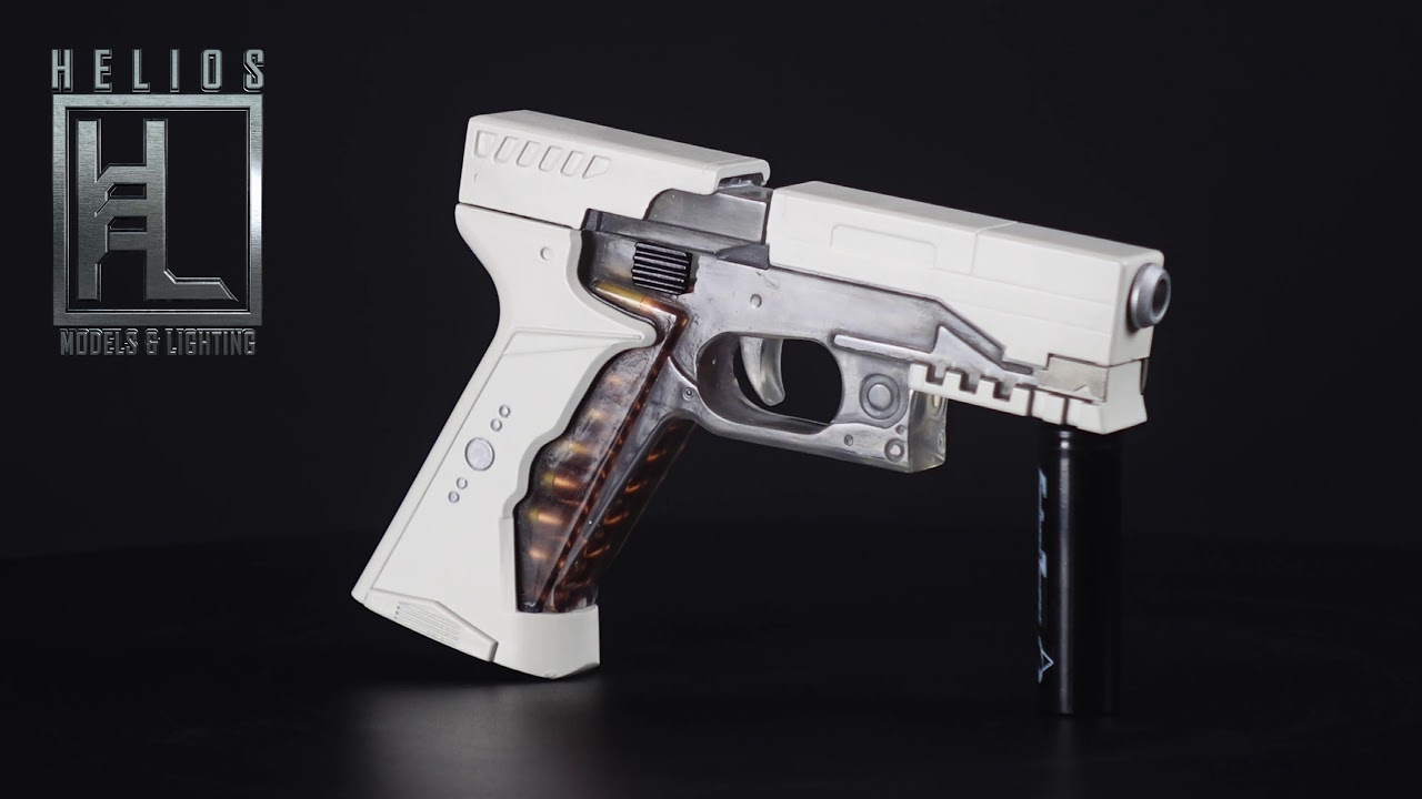 Ghost In The Shell Thermoptic Pistol Youtube
