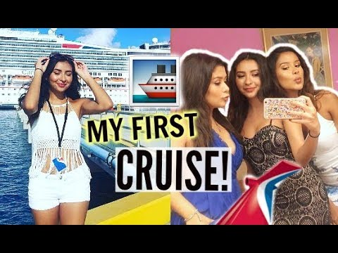 MY FIRST TIME ON A CRUISE VLOG! | On Board Carnival Triumph