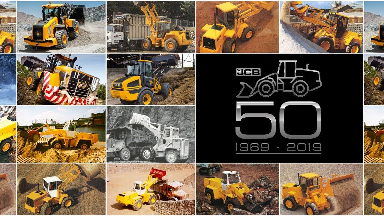 History of JCB Wheel Loaders - 50 Years of JCB Shovels