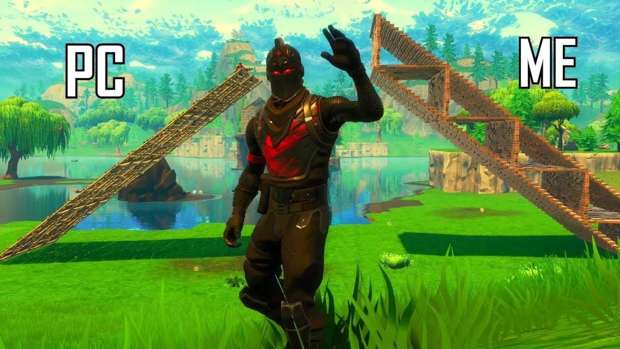 pro console player vs pc players best console build battles fortnite battle royale - top fortnite players console