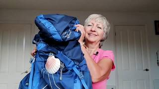 2. Revised packing list and lessons learned for the Camino de Santiago France