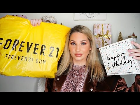 BIRTHDAY HAUL! Forever21, Sugarfina, Candles
