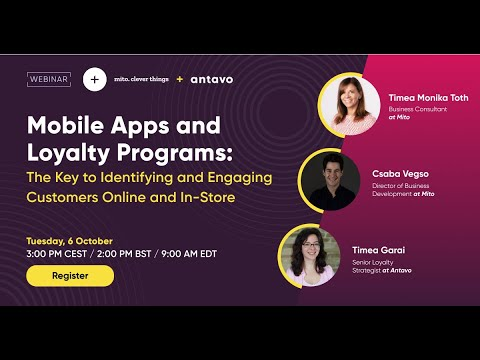[Webinar] Mobile Apps and Loyalty Programs: The Key to Identifying and Engaging Customers