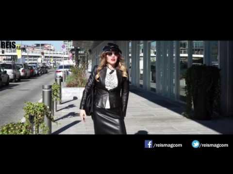 ReisMag - Dina Reis arrives in Milan