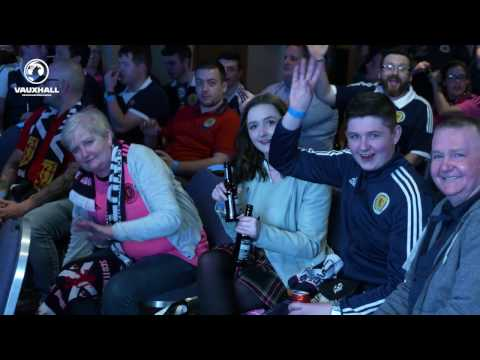 Scotland v Slovenia Fan Zone