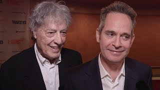 Tom Stoppard Joins the Cast of ''Travesties'' on Opening Night