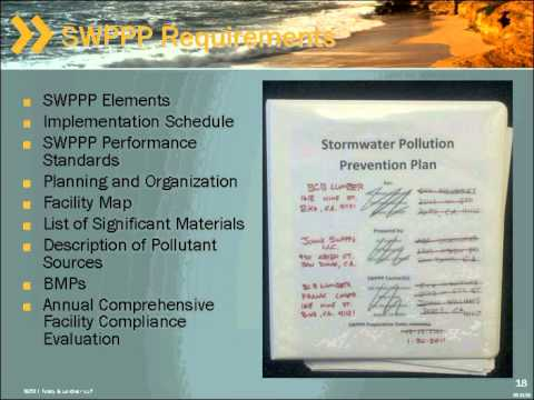 Properly Preparing a Storm Water Pollution Prevention Plan