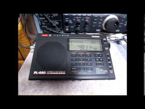 TECSUN PL-680 Vs 660 4810kHz Voice Of Armenia