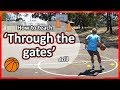 Relay drill: 'Through the gates' (grade K-6) | Basketball skills in PE