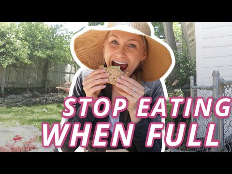 3 EASY TIPS! | How To Stop Eating When You're Full