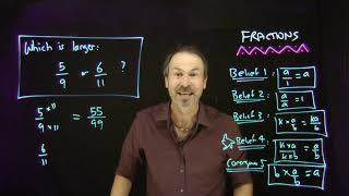 Fractions 9:  Comparing Fractions