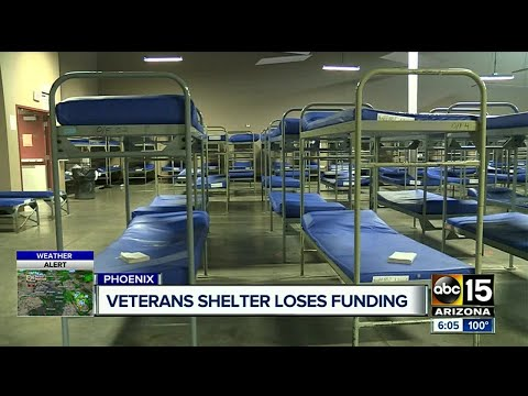 Veterans shelter losing thousands in funding