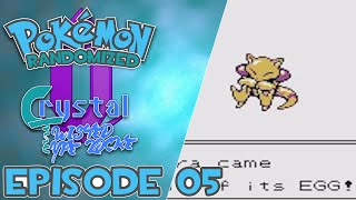 Pokemon :: Randomized Crystal Twisted Typelocke :: EP05 :: SHINY!?