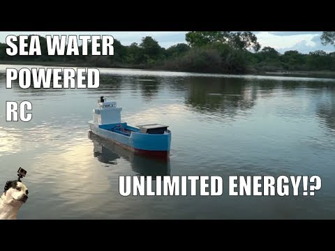 Saltwater Powered RC Boat