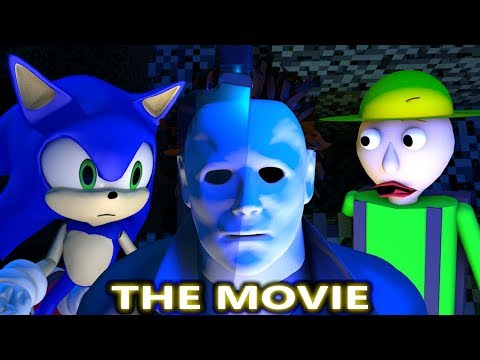 MICHAEL MYERS HALLOWEEN VS SONIC & BALDI CHALLENGE THE MOVIE! (official) Minecraft Horror Animation