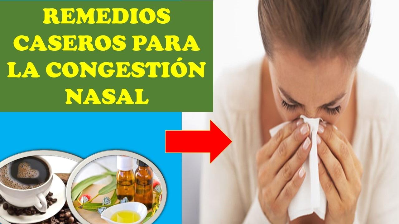 medicamentos para la nariz tapada